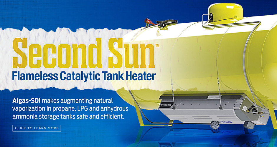 Second Sun Flameless Catalytic Tank Heater