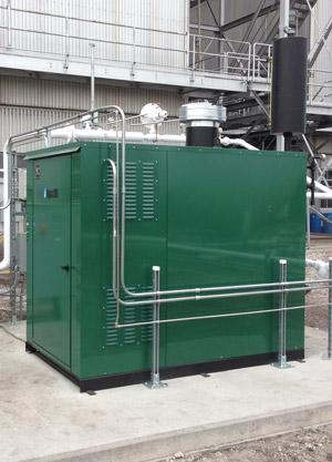 Algas-SDI Aquavaire Vertical Gas Fired Waterbath LPG Vaporizer